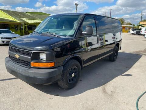 2014 Chevrolet Express Cargo for sale at RODRIGUEZ MOTORS CO. in Houston TX