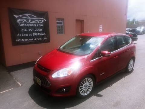 2014 Ford C-MAX Hybrid for sale at ENZO AUTO in Parma OH