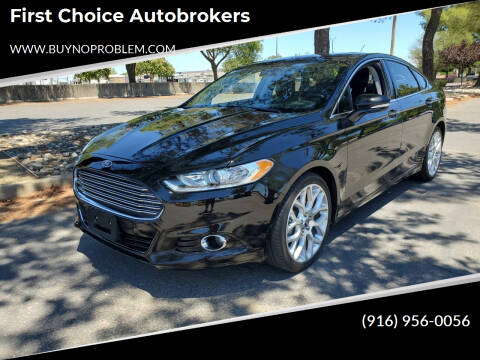 2013 Ford Fusion for sale at Matador Motors in Sacramento CA