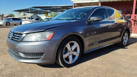 2012 Volkswagen Passat for sale at Fast Trac Auto Sales in Phoenix AZ