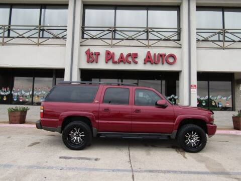 2004 Chevrolet Suburban for sale at First Place Auto Ctr Inc in Watauga TX