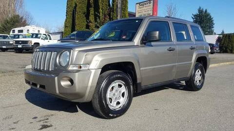 2008 Jeep Patriot for sale at Payless Car & Truck Sales in Mount Vernon WA