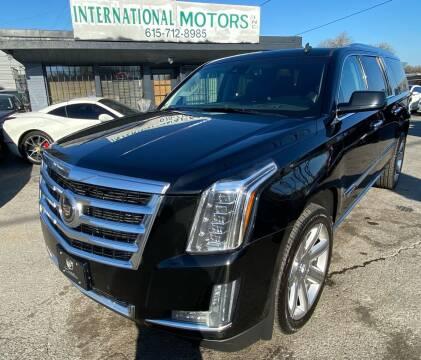 2015 Cadillac Escalade ESV for sale at International Motors Inc. in Nashville TN