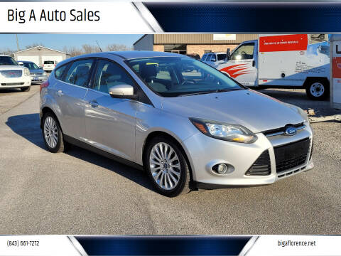 2012 Ford Focus for sale at Big A Auto Sales Lot 2 in Florence SC