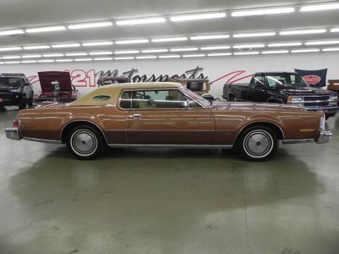 1975 Lincoln Continental for sale at 121 Motorsports in Mt. Zion IL