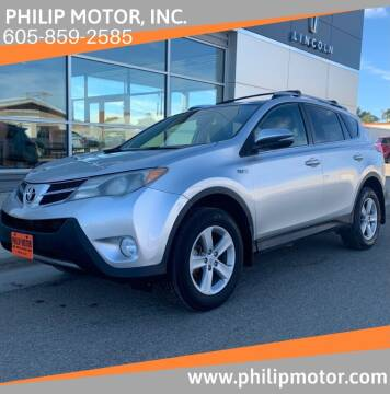 2013 Toyota RAV4 for sale at Philip Motor Inc in Philip SD