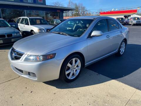 2004 Acura TSX for sale at Wise Investments Auto Sales in Sellersburg IN