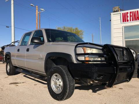 2004 Chevrolet Silverado 2500HD for sale at Eastside Auto Sales in El Paso TX
