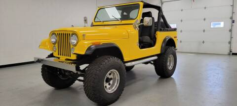 1981 Jeep CJ-7 for sale at 920 Automotive in Watertown WI