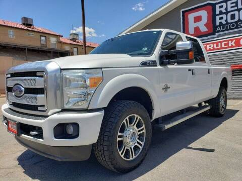 2014 Ford F-350 Super Duty for sale at Red Rock Auto Sales in Saint George UT
