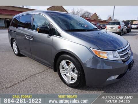 2011 Honda Odyssey for sale at Auto Q Car and Truck Sales in Mauldin SC