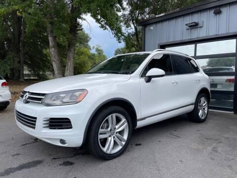 2013 Volkswagen Touareg for sale at Luxury Auto Company in Cornelius NC