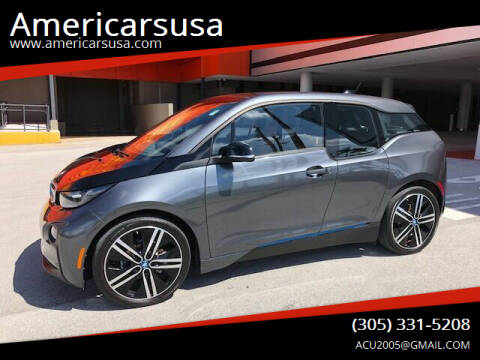 2017 BMW i3 for sale at Americarsusa in Hollywood FL