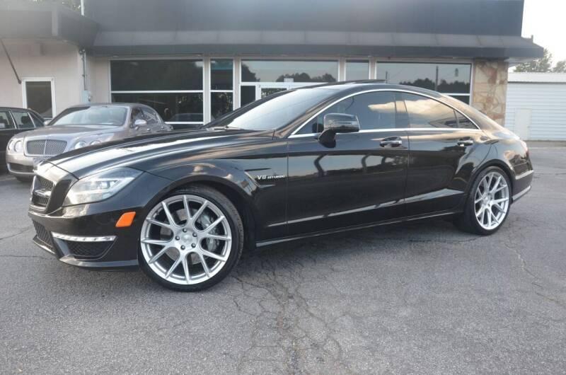2012 Mercedes-Benz CLS for sale at Amyn Motors Inc. in Tucker GA
