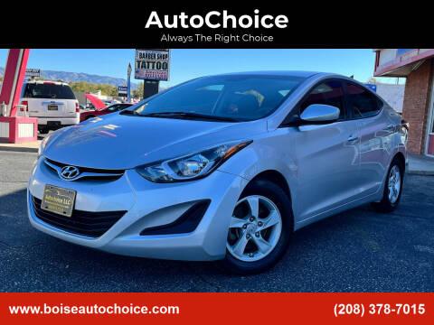 2015 Hyundai Elantra for sale at AutoChoice in Boise ID