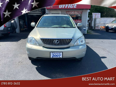 2007 Lexus RX 350 for sale at Best Auto Mart in Weymouth MA