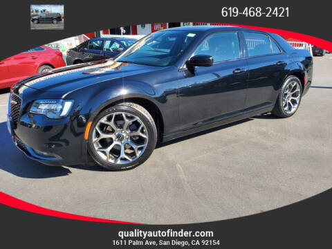 2018 Chrysler 300 for sale at QUALITY AUTO FINDER in San Diego CA