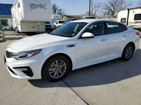 2020 Kia Optima for sale at Kell Auto Sales, Inc - Grace Street in Wichita Falls TX