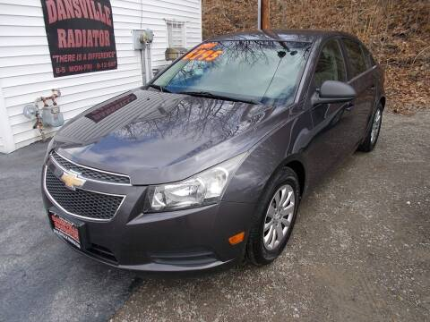 2011 Chevrolet Cruze for sale at Dansville Radiator in Dansville NY
