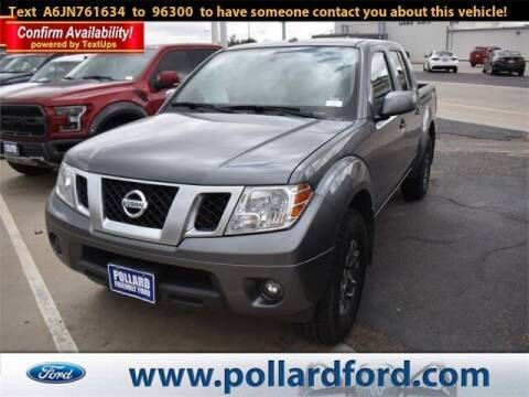 2018 Nissan Frontier for sale at South Plains Autoplex by RANDY BUCHANAN in Lubbock TX