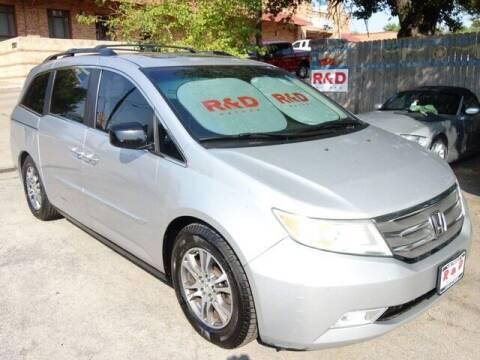 2012 Honda Odyssey for sale at R & D Motors in Austin TX