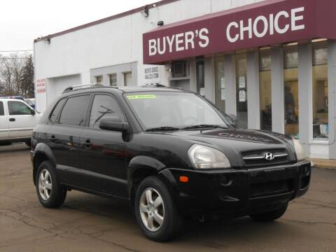 2007 Hyundai Tucson for sale at Buyers Choice Auto Sales in Bedford OH