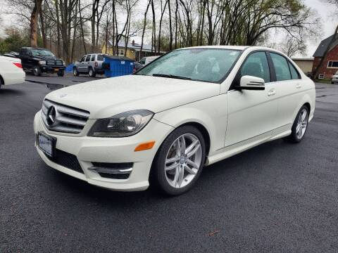 2012 Mercedes-Benz C-Class for sale at AFFORDABLE IMPORTS in New Hampton NY