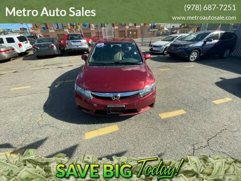 2011 Honda Civic for sale at Metro Auto Sales in Lawrence MA
