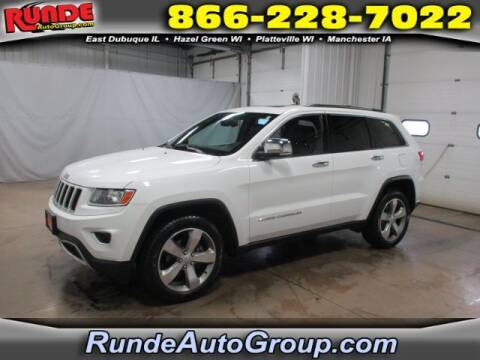 2014 Jeep Grand Cherokee for sale at Runde Chevrolet in East Dubuque IL