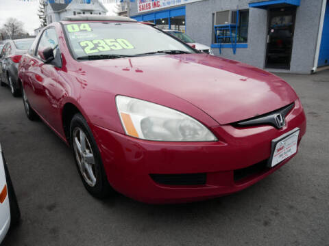 2004 Honda Accord for sale at M & R Auto Sales INC. in North Plainfield NJ