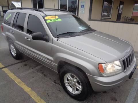 2000 Jeep Grand Cherokee for sale at BBL Auto Sales in Yakima WA