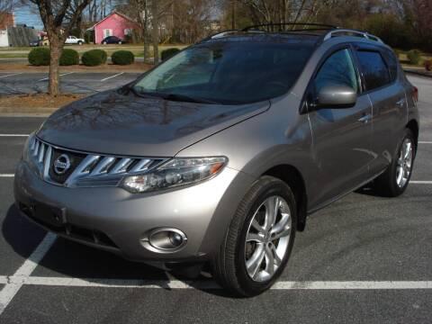 2009 Nissan Murano for sale at Uniworld Auto Sales LLC. in Greensboro NC
