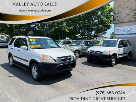 2004 Honda CR-V for sale at VALLEY AUTO SALES in Methuen MA