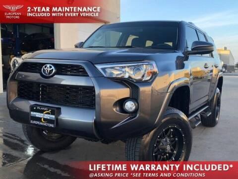 2018 Toyota 4Runner for sale at European Motors Inc in Plano TX