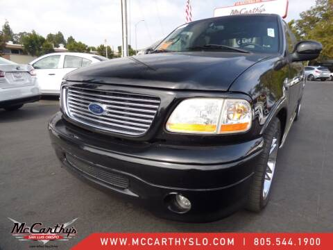 2002 Ford F-150 for sale at McCarthy Wholesale in San Luis Obispo CA