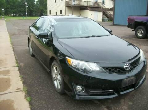 2012 Toyota Camry for sale at CousineauCrashed.com in Weston WI