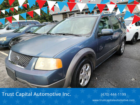 2005 Ford Freestyle for sale at Trust Capital Automotive Inc. in Covington GA