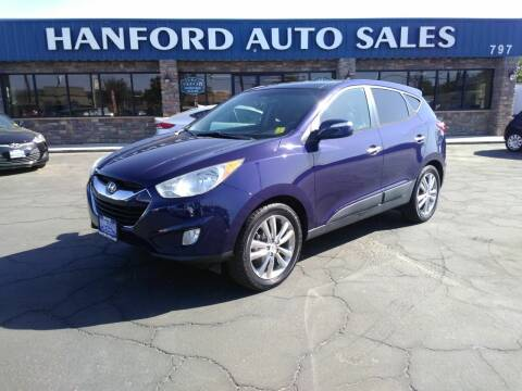 2010 Hyundai Tucson for sale at Hanford Auto Sales in Hanford CA