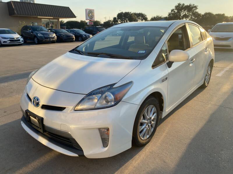 2012 Toyota Prius Plug-in Hybrid for sale at Houston Auto Gallery in Katy TX