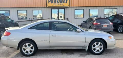 2002 Toyota Camry Solara for sale at Parkway Motors in Springfield IL