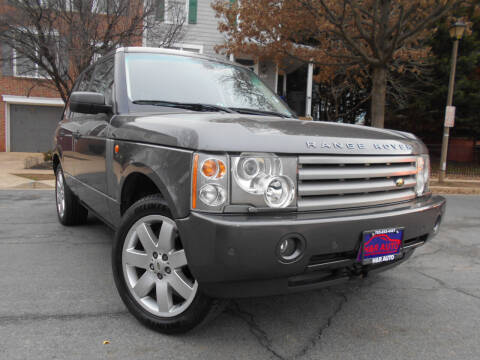 2005 Land Rover Range Rover for sale at H & R Auto in Arlington VA