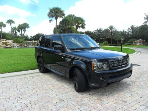2012 Land Rover Range Rover Sport for sale at AUTO HOUSE FLORIDA in Pompano Beach FL