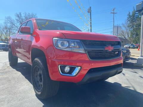 2016 Chevrolet Colorado for sale at Auto Exchange in The Plains OH