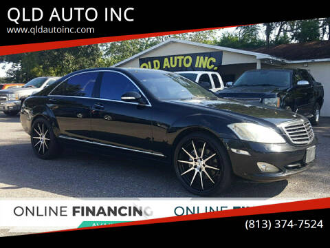 2007 Mercedes-Benz S-Class for sale at QLD AUTO INC in Tampa FL