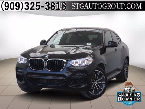 2020 BMW X4 for sale at STG Auto Group in Montclair CA