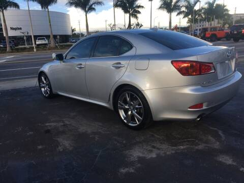 2010 Lexus IS 250 for sale at CAR-RIGHT AUTO SALES INC in Naples FL