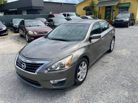 2015 Nissan Altima for sale at Velocity Autos in Winter Park FL