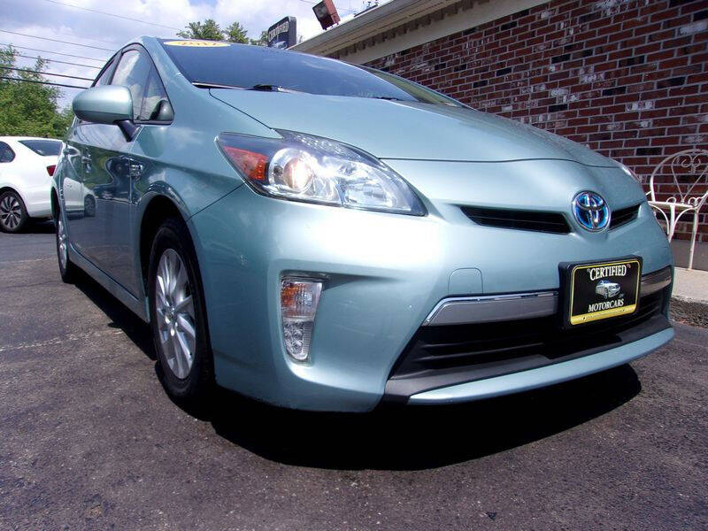2012 Toyota Prius Plug-in Hybrid for sale at Certified Motorcars LLC in Franklin NH