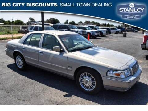 2010 Mercury Grand Marquis for sale at Stanley Automotive Finance Enterprise - STANLEY FORD ANDREWS in Andrews TX