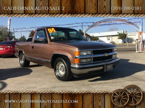 1994 Chevrolet C/K 1500 Series for sale at CALIFORNIA AUTO SALE 2 in Livingston CA